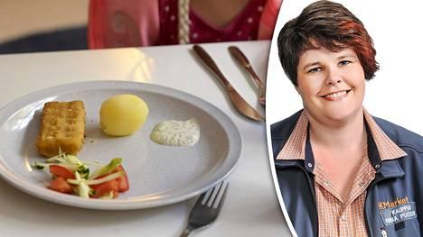 Raisiolainen K-kauppias Niina Puoskari tarjoutui järjestämään ruokailun kuntansa päiväkotilapsille ja koululaisille JHL:n lakon aikana.