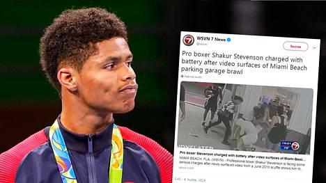 Valvontakameravideo paljasti järkyttävän yhteenoton parkkihallissa – nyrkkeilytähti hakkasi miehen karmeaan kuntoon