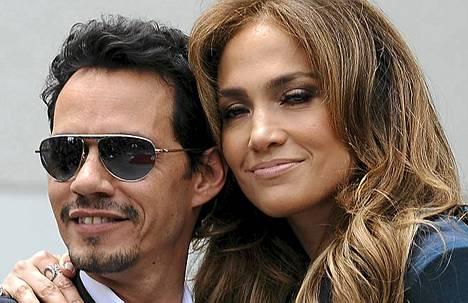 J-Lo:n ja Marc Anthonyn kulissit olivat kunnossa.