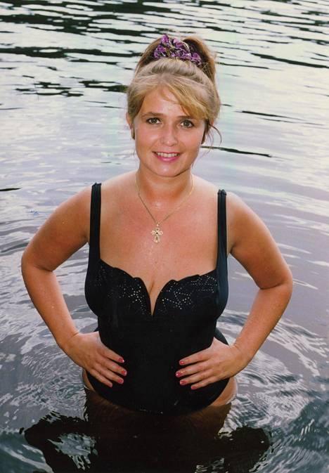 Meiju Suvas heinäkuussa 1992.