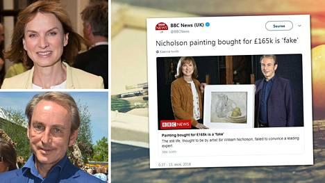 Asiantuntijat antoivat ikäviä uutisia maalauksen ostajalle tv-ohjelmassa.