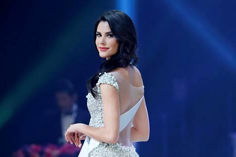 Missikaunotar Mariem täytti 20 vuotta samana päivänä kun hänet kruunattiin Miss Internationaliksi.