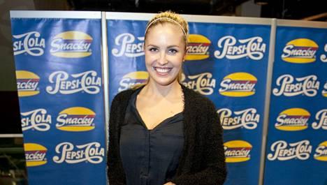 Niina Lavonen meni perjantaina Pori Jazzeille suoraan Barcelonasta.