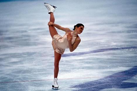 Nancy Kerrigan loisti vuoden 1994 olympiakisoissa.