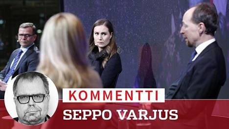 Sanna Marinin Sdp ja Jussi Halla-ahon perussuomalaiset ovat matkalla 2020-luvun puoluekentän valtiaiksi. Jopa Petteri Orpon kokoomusta uhkaa luisuminen apupuolueeksi.