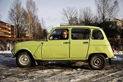 Pertti Jarlan ja Keijo Kallungin autoissa on samaa näköä.