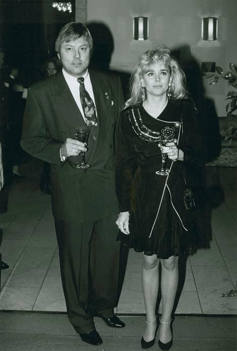 Danny ja Armi aloittivat yhteistyönsä jo 1970-luvulla. Kuva vuodelta 1992.