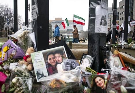 Iranin lentoturman uhreja on muistettu Kanadassa.