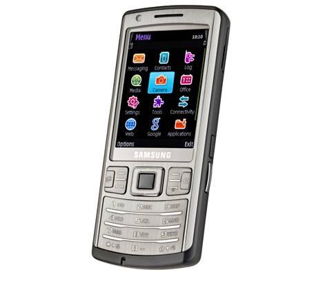 Samsungin i7110-puhelin perustui Symbianin S60-versioon.