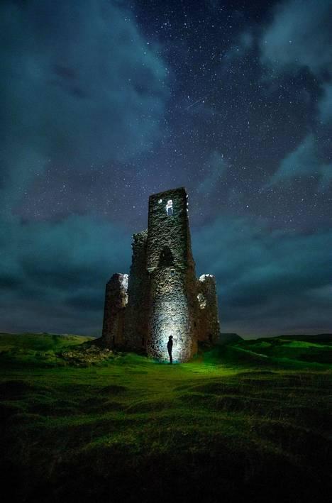 Skotlannissa sijaitsevasta Ardvreckin linnasta ei ole paljon jäljellä.