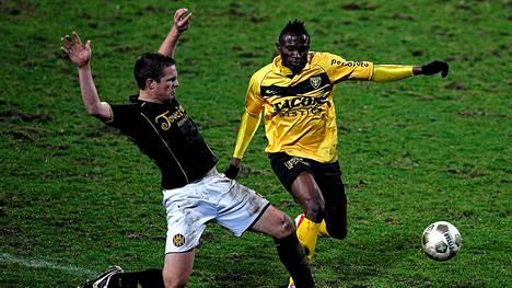 Mustapaitainen Roda JC Kerkrade pesi VVV Venlon Hollannin liigassa aatonaattona. Korsossa oli tuloksesta toki vahva kutina jo etukäteen.