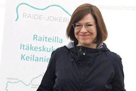 Apulaispormestari Anni Sinnemäki on todennäköisesti vihreiden pormestariehdokas myös ensi huhtikuun kuntavaaleissa.