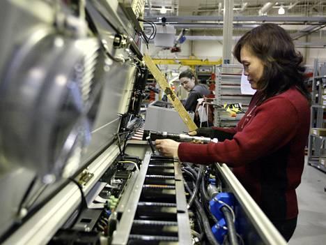 Kuva Danfossin tehtaalta Yhdysvaltain Rockfordista.