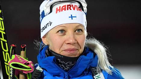 Kaisa Mäkäräinen kertoo urastaan ja haasteistaan HS:n kuukausiliitteessä.