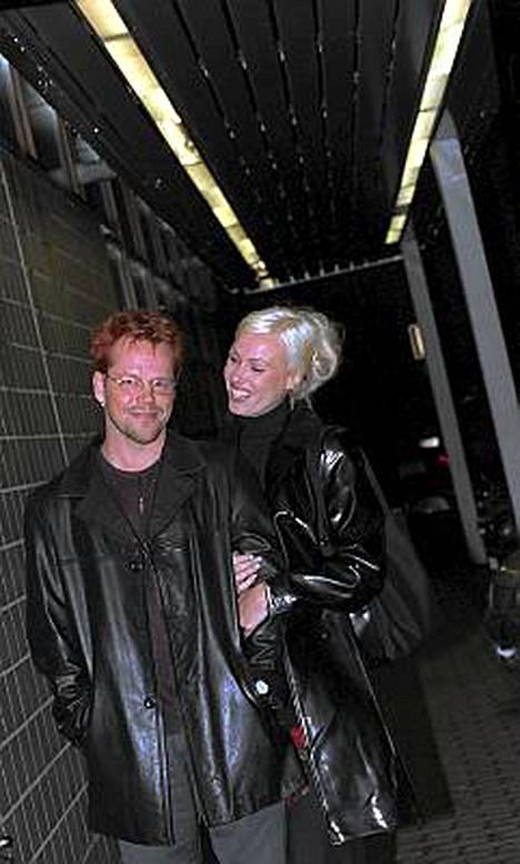 Nipa ja silloinen tyttöystävä Diana vuonna 1997.