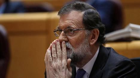 Espanjan pääministeri Mariano Rajoy.