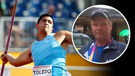 Kari Ihalainen oli Braian Toledon valmentajana mukana jo Lontoon MM-kisoissa 2017.