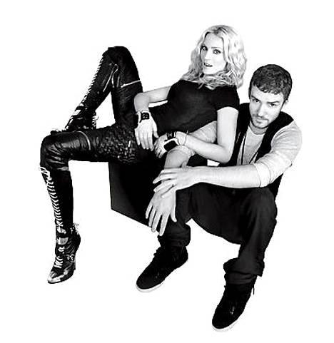 Popin kuningatar on uransa aikana tehnyt yhteistyötä lukuisten tähtien kanssa. Justin Timberlaken kanssa hän levytti 4 Minutes -hitin.