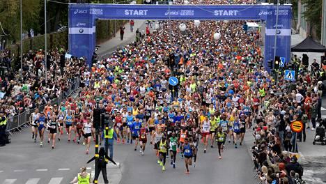 Viime vuonna Tukholman maraton juostiin 1. kesäkuuta.