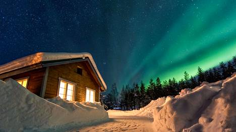 Osa on vaihtanut ulkomaan loman matkaan Suomen Lapissa.
