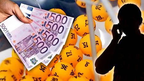 Lottopallot pyörivät suotuisasti helsinkiläisen perheenisän kannalta.