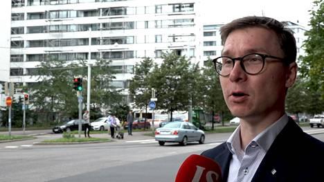 Nordean yksityistalouden ekonomisti Olli Kärkkäinen.
