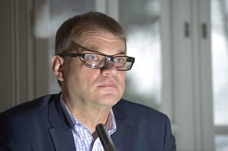Juha Sipilä esiintyi Pääministerin haastattelutunnilla pääministerin virka-asunnolla Kesärannassa Helsingissä tänään sunnuntaina.