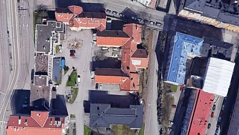 Kiistaa käytiin Helsingissä sijaitsevan, suljetun Marian sairaalaan alueen pysäköintipaikasta.