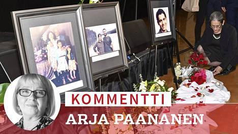 Yli 2000 ihmistä saapui ukrainalaiskoneen maahansyöksyn uhrien muistotilaisuuteen Edmontonissa Kanadassa sunnuntaina. Turmassa kuoli 57 kanadalaista.