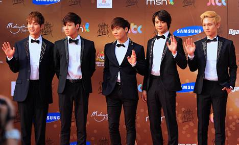 Shinee on kotimaassaan äärimmäisen suosittu yhtye.