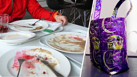 Syö lautanen tyhjäksi ja tee kauppakassi vaikka kahvipusseista. Suomalainen elämäntapa teki vaikutuksen amerikkalaiseen Rachaeliin.