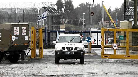 Quneitran rajanylityspaikka.
