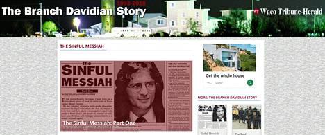 Waco Tribune Herald muisteli nettisivuillaan artikkelia, jossa David Koreshin toimia kartoitettiin.