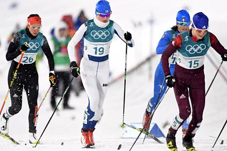 Johanna Matintalo on kilpaillut Pyeongchangissa kahdella matkalla. Sunnuntaina tulee vielä kolmas.