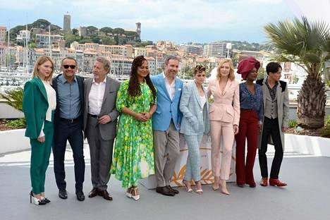 Cannesin elokuvajuhlien tuomaristo.
