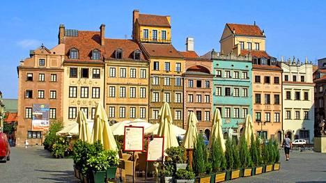 Varsova ohitti halvimpana kaupunkina monta suomalaisten edulliseksi mieltämää kohdetta, kuten Riian ja Tallinnan.