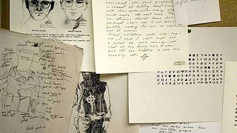 Zodiac-tappajan kirjeet olivat keskeisessä osassa surmista tehdyssä Zodiac-elokuvassa (2007).