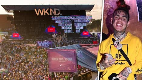 Weekend Festivalilla esiintyvä rap-artisti Daniel Hernandez, joka tunnetaan nimellä Tekashi tai 6ix9ine, on Daily Mailin mukaan pidätetty.