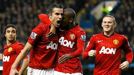 Manchester United otti harppauksen kohti Valioliigan piikkipaikkaa.