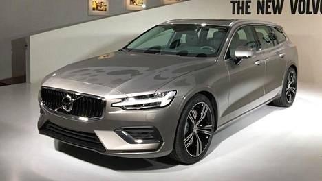 V60:ssä on sama alustarakenne kuin XC60:ssä ja V90:ssä.