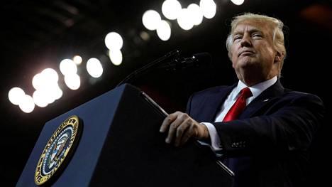 Yhdysvaltain presidentti Donald Trump on edelleen Venäjä-kohun keskiössä.