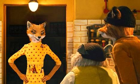 Foxin vaimon äänenä Meryl Streep.