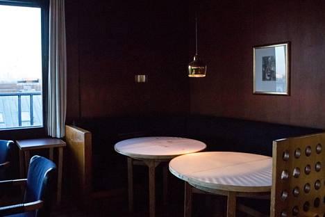 Savoyn sisätilaa. Ravintola avasi ovensa kesällä 1937.