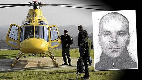 Pasi Pulkkista on etsitty Espanjassa muun muassa helikopterilla.