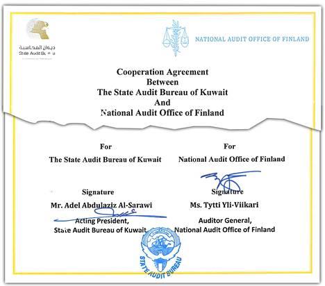 Myös vauras öljyvaltio Kuwait on ollut VTV:n kumppanimaa. Kahdenvälinen sopimus allekirjoitettiin marraskuussa 2017.