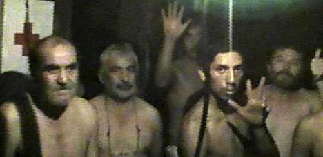 Kaivosmiehet pääsivät puhumaan omaistensa kanssa. Kuva otettu 29. elokuuta.