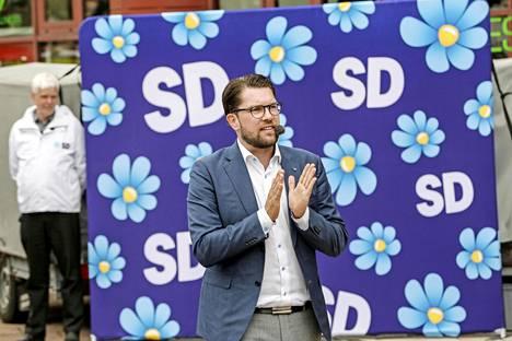 Jimmie Åkesson on johtanut puoluettaan jo vuodesta 2005 lähtien.