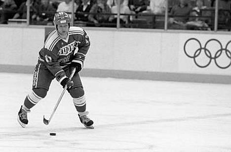 Erkki Laine oli yksi Suomen joukkueen suurista sankareista vuoden 1988 olympialaisissa.