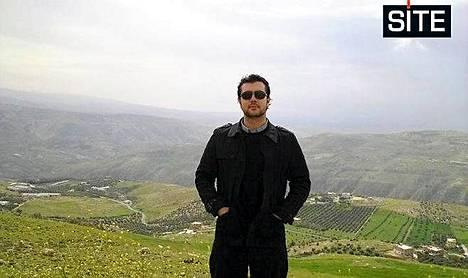 Taimour Abdulwahab matkaili Lähi-idässä ennen iskuaan. Kuvassa hän on Jordaniassa.