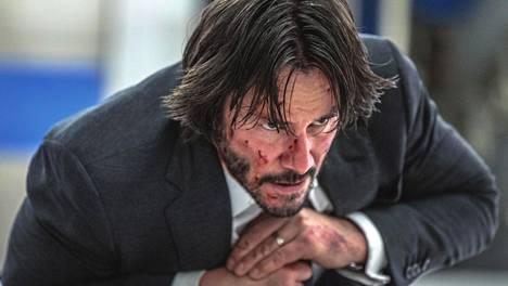 Keanu Reeves näyttelee toimintasankari John Wickiä jo toista kertaa.